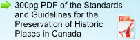 300pg PDF of the Standards and Guidelines for the Preservation of Historic Places in Canada